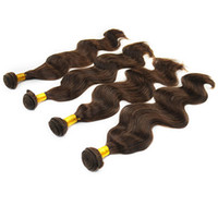 6A Brazilian Hair human hair ponytail - 6A Brazilian Virgin Hair Body Wave Weave Extension quot quot Dark Brown g Unprocessed Remy Human Hair Wavy Weft Ponytail