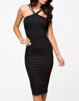 Casual Dresses mid dress - New Brand Sexy Womens Clubwear Black Mesh Panel Mid Calf Midi Dress Cocktail Pencil Dress B4904
