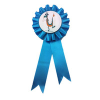 Wholesale High Quality Handmade Award Ribbon Rosette