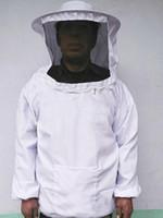 Wholesale Protective Safety Clothing Beekeeping Jacket Veil Smock Equipment Bee Keeping Hat Sleeve Suit