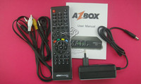 Wholesale AZBOX Bravissimo Set Top Box Satellite Receiver HD Twin Tuner has Free SKS and IKS Support Linux OS
