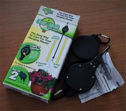 El envío libre 240pcs / lot de la planta del alcance fácil Polea suspensión de la planta de jardín Hook (1pack = 2pcs)