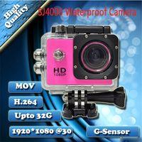 Wholesale SJ4000 M Waterproof Camera Helmet Camera P Full HD Sport Camcorder inch MP Sport DV Car DVR Gopro LCD HD wide angle wifi C1