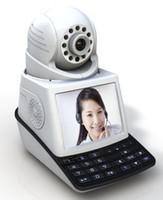 Acheter Surveillance vidéo ip-Réseau caméra vidéo caméra sans fil IP caméra moniteur bébé P2P système d'alarme pan / tilt vision nocturne vidéo appel téléphonique gratuit