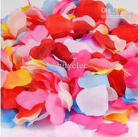 Wholesale Hot sale Cheap Silk Rose Flowers Petals Wedding Favors Party Birthday Home Decoration bags beauiful garlands