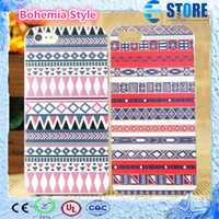 Wholesale 2014 New Bohemia Style Cell Phone Accessories colors optional Bohemia national Version cases for iPhone iPhone4s iPhone5 iPhone5s