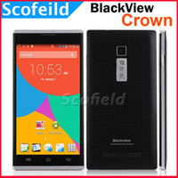Wholesale 5 quot OGS IPS Blackview Crown MTK6592W Octa Core Android Cell Phone smartphone G RAM G ROM MP P G GPS Android