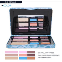 Full size Luminous Easy to Wear New 2014 9 Colors Naked Eyeshadow Palette Pigment Face Women Cosmetics Eye Shadow Luminizer Freeshipping