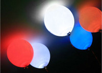 led balloons - 10pcs Submersible balloon paper lantern LED light Wedding Party Decoration Floral