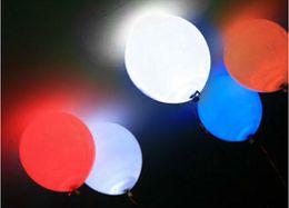 Wholesale 10pcs Submersible balloon paper lantern LED light Wedding Party Decoration Floral