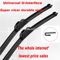 Wholesale price for Car Wiper Blade Natural Rubber Car Wiper auto soft windshield wiper any size choice in