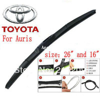 Wholesale car wiper blade For Toyota Auris Size quot quot Soft Rubber WindShield Wiper Blade pair
