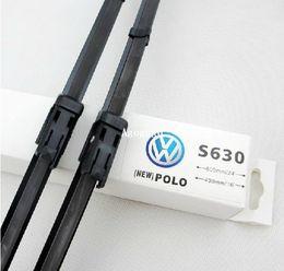 Wholesale car wiper blade For Volkswagen vw polo hatchback Soft Rubber WindShield Wiper Blade PAIR deflector window
