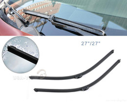 Wholesale Tracking quot quot Frameless Steel Rubber Rain Window Windshield Wiper Blade for Mercedes Benz S350 W220 W221 CA01337