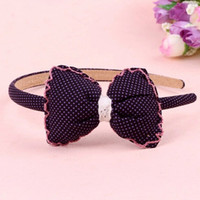 Other Fashion Hairwear New fashion fabric bow hair hoop headband Gifts for girls hair accessories High-end jewelry wholesale factory direct 2014 PD27