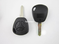 Wholesale Replacement Fob Case Uncut Auto Blank Transponder Straight Remote Key Shell For Lada Key With Buttons