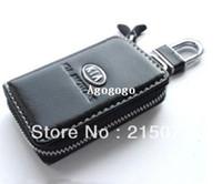 Wholesale Auto KIA k2 k3 k5 hy key wallet cover shell keyrings key holders key bags keychain genuine leather car accessories