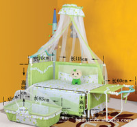 Wholesale Duchenne stroller painted face cat versatile crib manufacturers iron cloth cradle crib BC