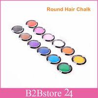 New Style 10pcs lot Round Hair Chalk Round Dry Chalk Circle ...