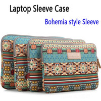 Sleeve/Pouch 8'' tablet Ipad MacBook Bohemia Laptop Sleeve Case Universal Tablet Computer Bag Cases For PC Ipad MacBook air Pro retina 10 11 12 13 14 15 Inch C1 30pcs