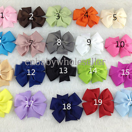 Wholesale Hot Sale Latest Fashion Baby Girl Hair Accessories With Bowknot Anti Rust Kids Hair Clip For Children HA40827