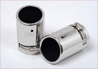 Exhaust Pipe exhaust pipe for muffler - Fit for Volkswagen VW Tiguan CHROME EXHAUST MUFFLER TIP
