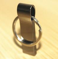 Wholesale 100 Real original capacity GB GB GB GB GB GB GB GB USB Flash Drive Memory Stick Key Ring Metal Retail Packaging