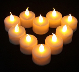 Flickering Battery Operated LED Candle Tea light Candles Flameless Smokeless Romantic Valentine's Day Wedding Birthday Party Christmas Decor