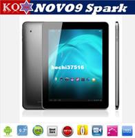 Wholesale Ainol NOVO9 Spark A31 Quad Core inch IPS Retina x1536 GB GB Dual Camera MP Android Tablet PC WIFI OTG HDMI