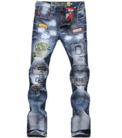 Wholesale 2014 men s jeans AliExpress specifically for large size jeans trend in Europe and America P115s m l xl plus size