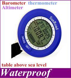 Wholesale SR204 Mini LED Digital Fishing Barometer Waterproof Multi temp reels lure line fish finder hot sale