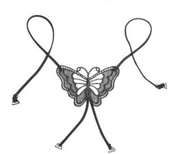 Wholesale Fashion Hot Sexy Cross Fashion Bra Straps Lace Butterfly Bra Shoulder Straps Necessary Summer