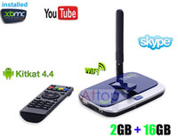 Wholesale CS928 RK3288 A17 Android kitkat Quad Core Smart TV Box GB GB Ghz M M Lan MP Camera k k XBMC TV Box