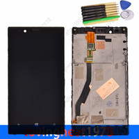 Wholesale 1 LCD display with frame and tools for Nokia Lumia N720 LCD screen with touch screen digitizer