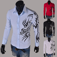 Men Fashion Designer Suits Dress man Shirts Fashion