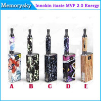 Single Multi Metal Authorized Innokin Itaste MVP 2.0 Energy Edtion 2014 New itaste MVP E cigarette Kit from Innokin DHL Free Shipping 002463