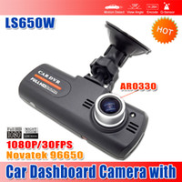 Wholesale Hot Sale LS650W Full HD P Car DVR Dashboard Camera with NTK96650 AR0330 Super Night Vision P FPS waitingyou