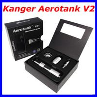 Replaceable Metal  Kanger Aerotank V2 Airflow Adjustable Atomizer e cigarette Tank aerotank Aerotank V2 clearomizer atomzier kangertech Electronic cigarette