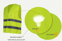 Wholesale Reflective safety vest coat Sanitation vest Construction of reflective vests Safety Clothing high visibility Safety warning clothing
