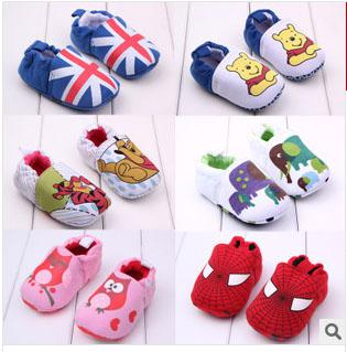 2017 Wholesale Retail Baby Boy Toddler Shoes Baby First Walkers ...