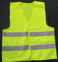 Wholesale Safety warning clothing Light Thin Breathable Reflective Vests Environmental Sanitation Coat Safety Vest Green Reflective Safety Clothing