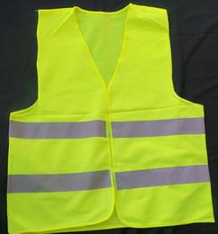 Safety warning clothing Light Thin Breathable Reflective Vests Environmental Sanitation Coat Safety Vest Green Reflective Safety Clothing