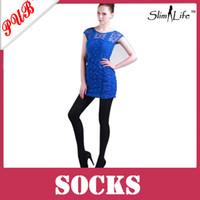 Bodysuits Tight Women 680D Black Tights Slimming Leggings Long Leg Socks Anti-varicose veins Compression Stocking Pantyhose 100pcs Free Shipping