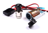Wholesale Motor Auto car cigarette lighter V modify Waterproof cigarette holder power supply for GPS PHONE MP4 CAMERA VIDEO