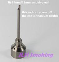 Wholesale titanium carb cap with titanium dabble on top perfect match with mm mm bowl of titanium nail we also offer quartz nail ceramic nail