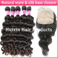Cheap European Hair silk base closure Best Natural Wave 100% Virgin Human Hair hair closure