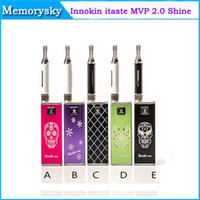 Wholesale 2014 Original Innokin iTaste MVP full kit iclear B atomizer Electronic Cigarette VV with Shine Color e cig iTaste MVP Shine