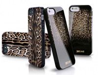 Case Yes Dirt-resistant Luxury Puro Just Cavallis Leopard Snake Print TPU Soft Case Silicon Cover for iphone 5 5s 4 4s with retail package 1pc free shipping GAO