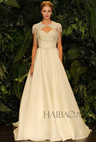 Cheap Vestido De Noiva Wedding Dresses Bridal Gown Cheap Sweetheart Pearls Jacket Spring 2015 Sexy Dress