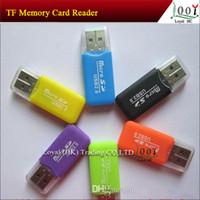 Wholesale 2014 Hot Item High Speed USB Micro SD T Flash TF M2 Memory Card Reader adapter gb gb gb gb gb gb TF Card